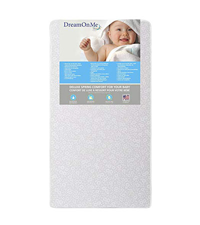 Best Baby Crib Mattresses Dream On Me Full Size Firm Foam Crib and Toddler Bed Mattress