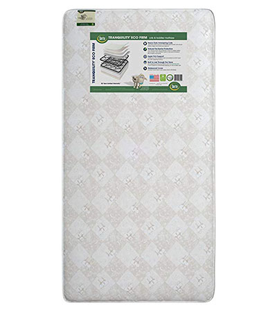 Best Baby Crib Mattresses Serta Tranquility Eco Firm Crib and Toddler Mattress