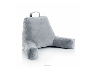 Best Backrest Pillows with Arms Linenspa Shredded Foam Reading Pillow