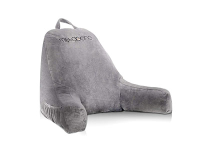 Best Backrest Pillows with Arms mittaGonG Backrest Reading Pillow